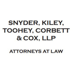 Snyder, Kiley, Toohey, Corbett & Cox, LLP Attorneys at Law