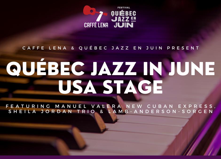 3 Nights of International Jazz + New Covid Protocols